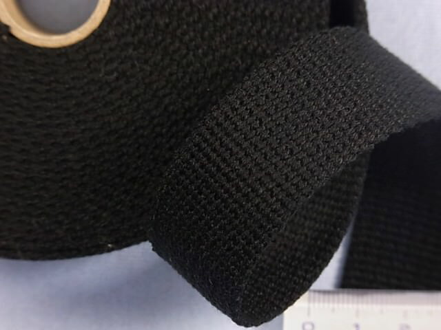 アクリルバンド(2.5cm)黒