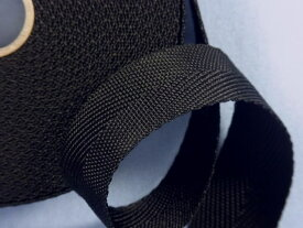 PPテープ黒(2.5cm幅 10m巻)