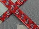 チロルテープ赤・パンダ(2.2cm幅 3m巻)