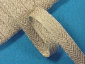 麻テープ渋ベージュ(1.1cm幅 10m巻)
