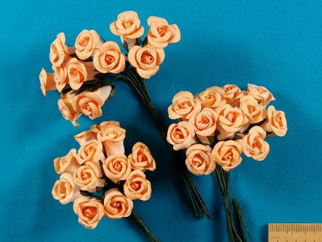 アートフラワー(造花)オレンジ系