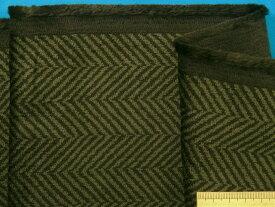 綿コーデュロイ生地グリン系×濃グリン(110cm幅 2m)