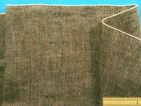 綿スラブ生地茶系(145cm幅 1.5m)