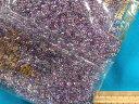 丸大ビーズ(約3mm)渋薄紫系