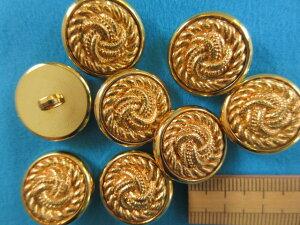 プラメタルボタン(20mm)金