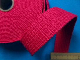 アクリルバンド濃ピンク(2.5cm幅 5m巻)
