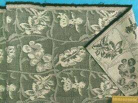 綿ジャガード生地ハワイアン/フラダンスグレー×薄グレー系(140cm幅 1.5m)
