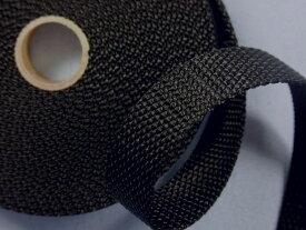 PPバンド黒(2cm幅 5m巻)