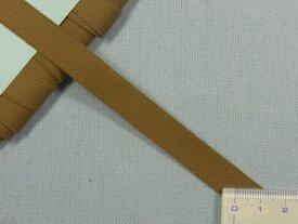 ナイロン朱子テープ(つや無)カーキ系(1.2cm幅 10m巻)