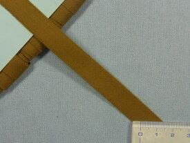 ナイロン朱子テープ(つや無)カーキ(1.3cm幅 10m巻)