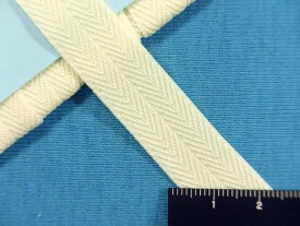 ソフトカラーゴム(1.4cm幅)アイボリー