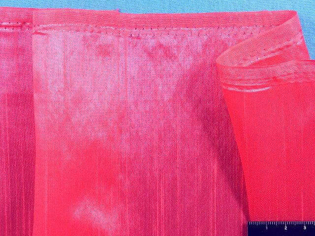 在庫処分・大幅値下げシャンタンサテン生地濃ピンク系