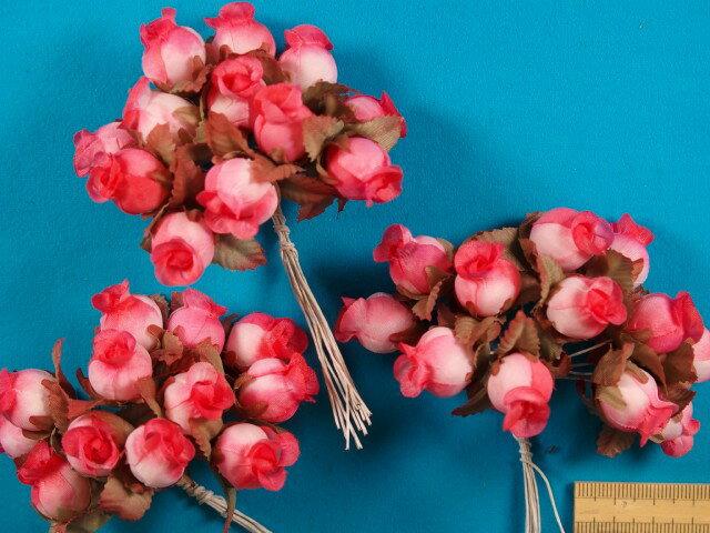 アートフラワー(造花)ピンク系
