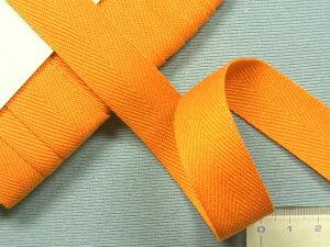 アクリルテープ(薄手)オレンジ(2cm幅 10m巻)