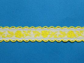 在庫処分・大幅値下げチロルテープ黄x白