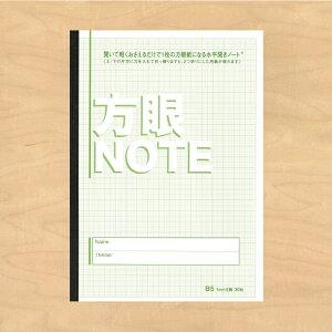 中村印刷所 水平開きノート B5 方眼1mm 30枚 60ページ 1冊