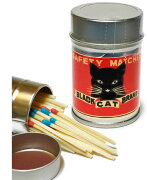レトロラベル缶マッチー猫シリーズ