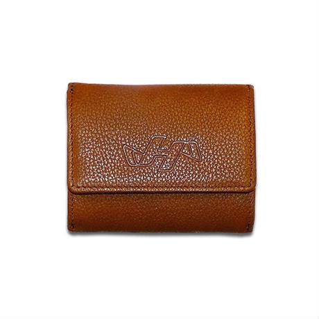 【ハタケヤマ】グラブ皮革使用 財布(小)
