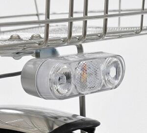 [Panasonic]「LED2灯ピッカル」NRS002・カゴ下に取り付けるLEDオートライト・LEDが2灯搭載★この製品はハブダイナモ装置車しか使用できません*1線式ハブダイナモ専用
