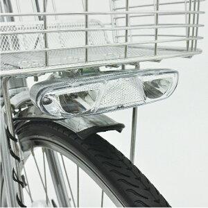 [MARUISHI]「LED4灯ピッカル」NRS007M・カゴ下に取り付けるLEDオートライト・LEDが4灯搭載★この製品はハブダイナモ装置車しか使用できません*1線式ハブダイナモ専用