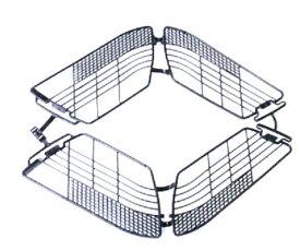 [OGK]「ドレスガード」DG-003・φ16(シティ・軽快車リヤ仕様)・24・26用ドレスガード・馬蹄錠対応・材質:PP・カラー:グレー・ブラック★廃盤(在庫限り)