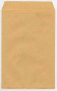 封筒 角6 クラフト テープ付 1000枚 70g クラフト封筒 茶封筒 口糊付き テープ グット 剥離紙 ワンタッチテープ付 ワンタッチ付 糊付