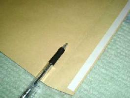 角2封筒 口糊付き封筒 クラフト 85g/m2 500枚グット 又は テープ付(スラット)紙が厚いタイプです