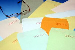 封筒 長3 エクセレントカラー封筒 80g 【 スミ貼 】 500枚