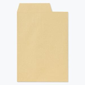 角2 クラフト 封筒 85g 右1/3開封 500枚 枠なし センター貼 k9204   サイズ A4 おしゃれ かわいい 郵便 用紙 カラー封筒 クラフト封筒 角形2号 A4封筒 定形外封筒