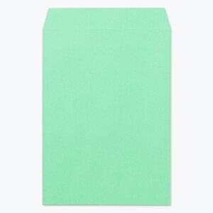 角2 封筒 カラー エメラルド 85g 300枚 枠なし ヨコ貼 kd0249 サイズ A4 おしゃれ かわいい 郵便 用紙 角2封筒 角形2号 A4封筒 定形外封筒