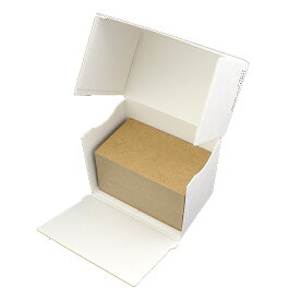 名刺 mini(40x66) クラフト アース【名入れ印刷なし 紙の販売です】100 枚/箱【mini 小型サイズ】