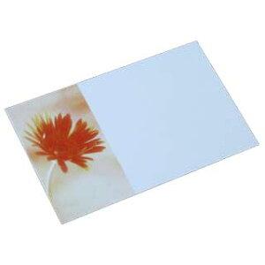 名刺 4号 50枚 フォトコレクション100 PM-73 ガーベラA 【 名入れ 印刷なし 紙の販売です 】【4号 写真入り 花・カーデニング】