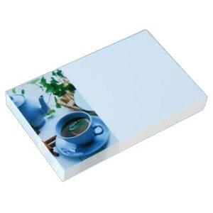 名刺 4号 50枚 フォトコレクション100 PM-88 ティータイム 【 名入れ 印刷なし 紙の販売です 】【4号 写真入り 雑貨・ペーパークラフト】