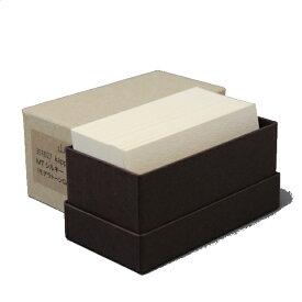 名刺 4号 kappan MTシルキー【名入れ印刷なし 紙の販売です】100 枚/箱【4号 活版印刷用】