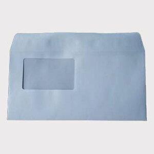 封筒 洋長3 窓付き白色封筒 100g カマス貼 窓枠寸法:90mm×55m 郵便番号の枠なし 1000枚