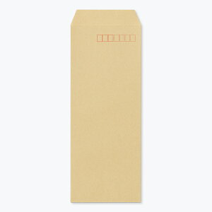 封筒 長40 クラフト 紙厚70 枠あり スミ貼 1000枚
