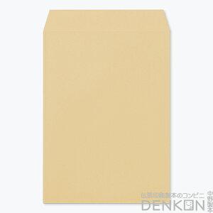 封筒 角4 クラフト テープ付 ( グット ) ( 紙厚 : 85 )( 郵便番号の枠:なし )( 中貼 ) 500枚