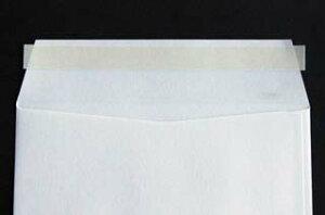 封筒 白封筒 長3 テープスチック ケント 100g ヨコ貼 枠入 100枚 nx4323