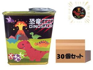 【当店でしか買えません】子供 が 喜ぶ お 菓子 恐竜ドロップ ソーダ味 85g ( 缶バッジ付き / 30個 / 1ケース ) 飴 キャンディー 子供 男 男子 恐竜 ダイナソー 遠足 おみやげ 土産 グッズ 誕生日