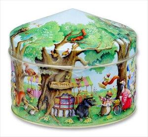 チャーチル 動物 ウッドランドフェア缶 (ショートブレッド) 225g クッキー 動物 キャット デコ缶 お菓子 おみやげ グッズ 誕生日プレゼント ギフト 敬老の日 2021 送料無料