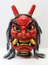 【あす楽】新型 なまはげ お面 赤 マスク お祭り ハロウィン コスプレ コスチューム 仮装 衣装 プチ仮装 飾り 秋田の…