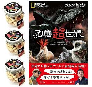 【当店でしか買えません】恐竜ボーロ 50g たまごボーロ(卵ボーロ)3個 & NHKスペシャル 恐竜超世界 (日本語) 単行本(ソフトカバー) (2種 4点セット) 赤ちゃん ベビー 子供 男 男子 恐竜 レ