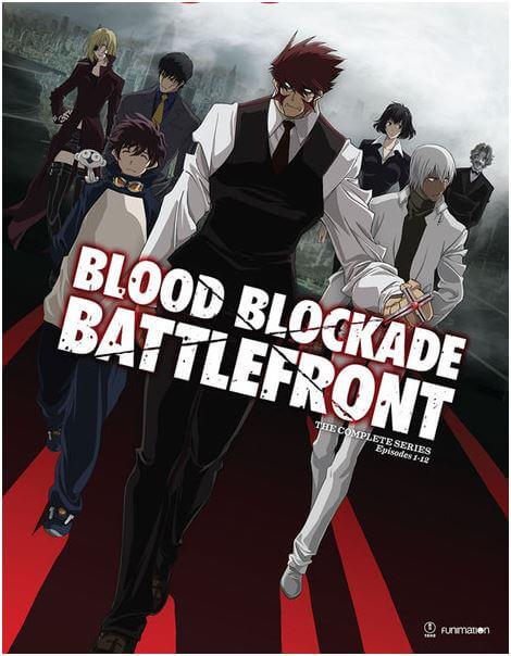 血界戦線 DVD (全13話 325分収録 北米版) 【輸入品】