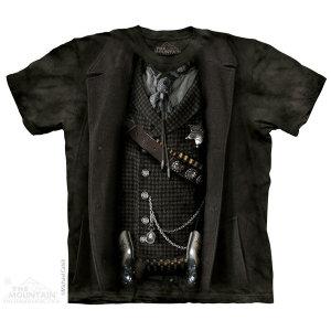 The Mountain Tシャツ The Sheriff (服 メンズ 男性用 男女兼用 ) XL-4L 【輸入品】 大きいサイズ 半袖