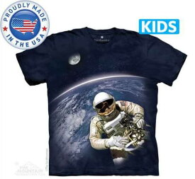 The Mountain Tシャツ The Smithsonian First American Space Walk (The Smithsonian 宇宙 宇宙飛行士 キッズ 子供用)【輸入品】半袖