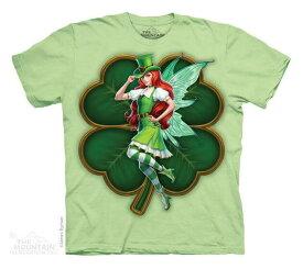 The Mountain Tシャツ St Patricks Day Fairy (アイルランド フェアリー 妖精 メンズ 男性用 男女兼用) S-L【輸入品】半袖