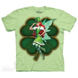The Mountain Tシャツ St Patricks Day Fairy ( アイルランド フェアリー メンズ 男性用 男女兼用 ) XL-4L 【輸入品】 大きいサイズ 半袖
