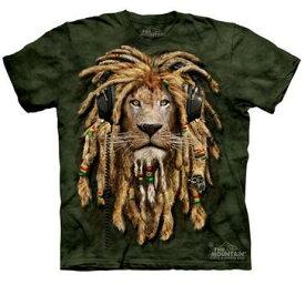 The Mountain Tシャツ DJ Jahman (DJ ライオン キッズ 子供用)【輸入品】半袖