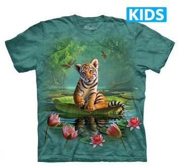 The Mountain Tシャツ Tiger Lily (トラ 虎 キッズ 子供用)【輸入品】半袖