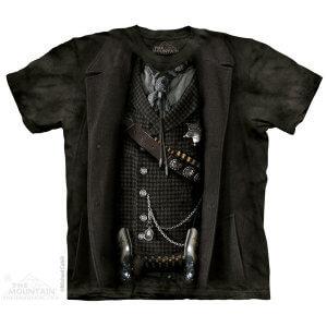 The Mountain Tシャツ The Sheriff (服 メンズ 男性用 男女兼用) S-L【輸入品】半袖